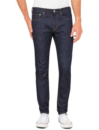 Slim Fit Navy Overdye Jeans