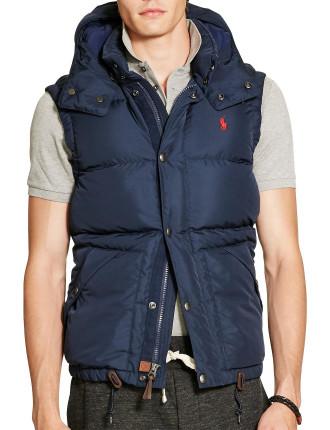 Down Full-Zip Vest