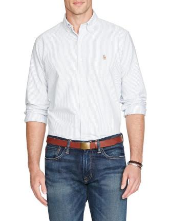 Custom Fit Polo Pony Oxford Shirt