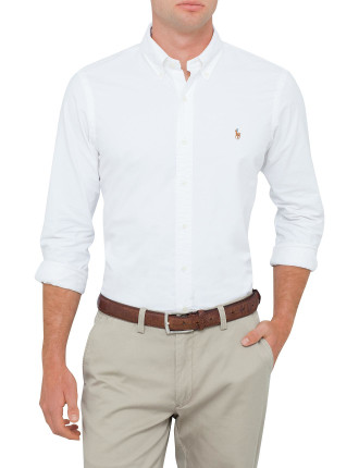 Custom Fit Polo Pony Oxford Shirt