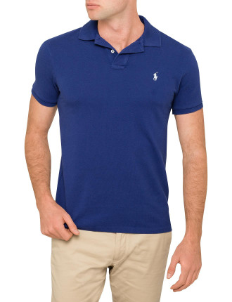 Custom-Fit Weathered Mesh Polo