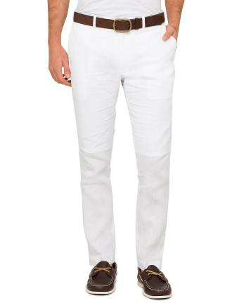 Slim Fit Linen Pant