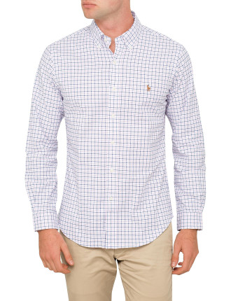 Slim-Fit Stretch Oxford Shirt