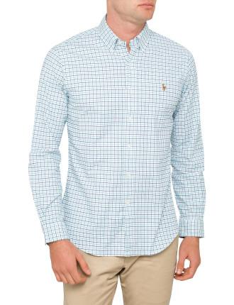 Slim-Fit Stretch Oxford Shirt