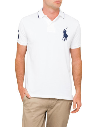 Custom-Fit Big Pony Polo Shirt