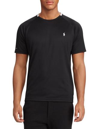 Micro-Dot Jersey T-Shirt