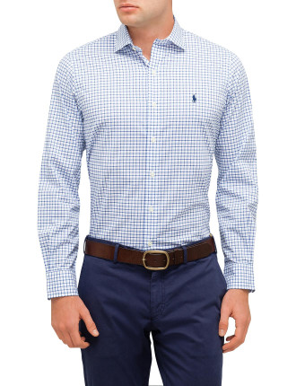 Spr Est Ppc-Long Sleeve-Sport Shirt-Poplin