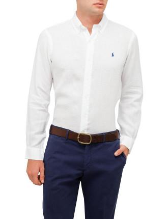 Bd Ppc Sp-Long Sleeve-Sport Shirt-Linen
