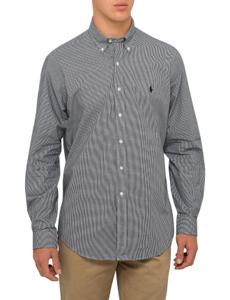 Check Poplin Shirt Core Fit