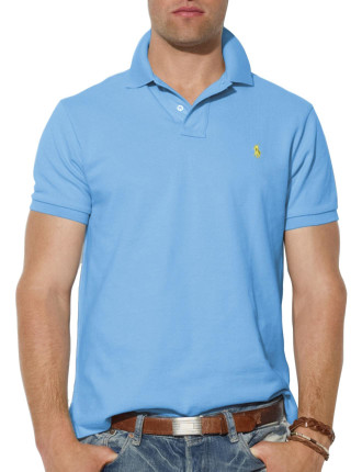 Custom Fit Mesh Polo