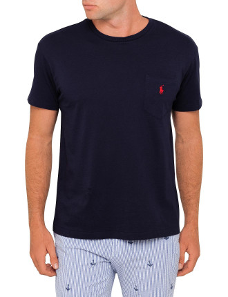 Crew Neck Standard Fit Pocket T-Shirt