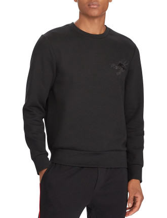 Dragon Cotton-Blend Sweatshirt