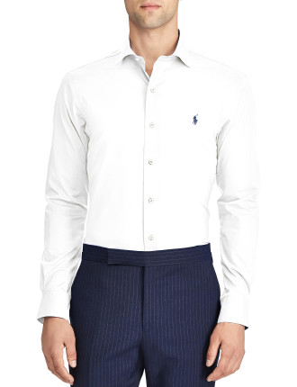 Slim Fit No-Iron Cotton Shirt