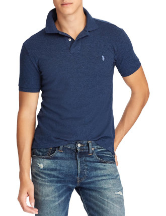 Slim-Fit Mesh Polo Shirt