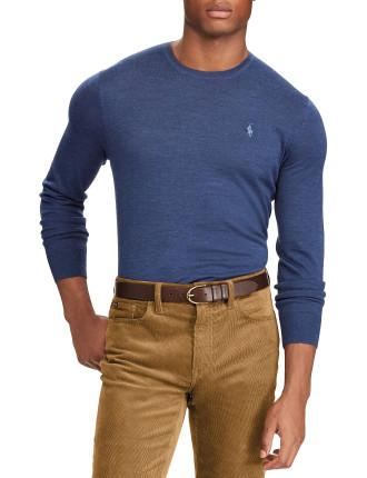 Washable Slim Merino Sweater