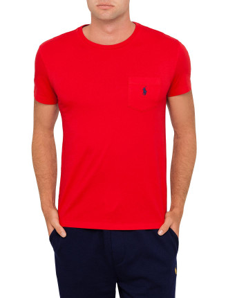 Crew Neck Custom Fit Tee Shirt