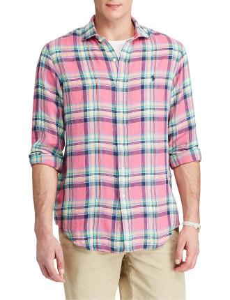 Standard Fit Ocean-Wash Shirt