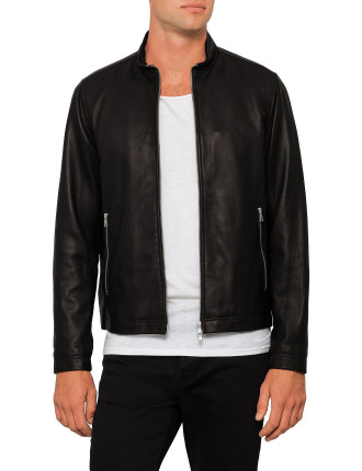 Morvek Smooth Nappa Leather Jacket