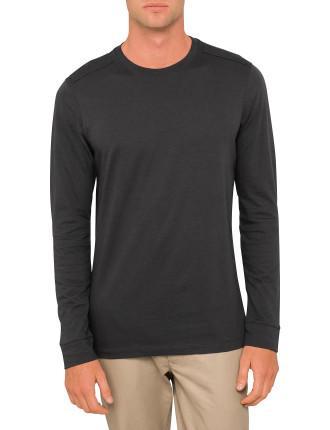 Elbow Slit LS T-shirt