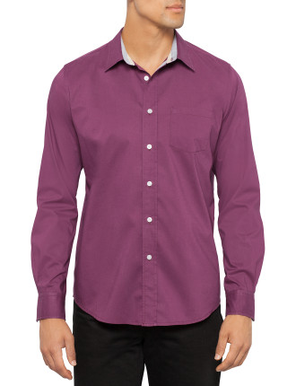 Willlis Long Sleeve Poplin Shirt