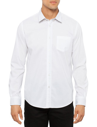 Willlis Long Sleeve Poplin Shirt