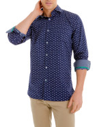 Long Sleeve Printed Dragonfly Shirt $89.95
