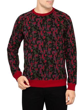 Splatter Sweatshirt C/N