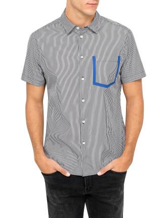 Pinstripe S/S Shirt