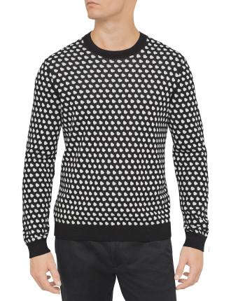 Shield Jacquard Sweater