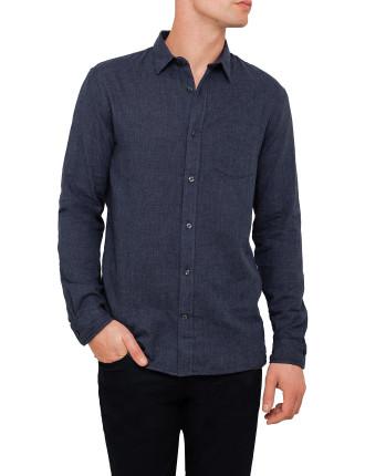 Double Weave L/S Melrose W Pocket