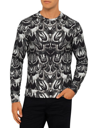 Chad Feather Printed Sweat