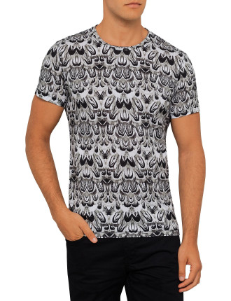 Sev C Feathers Tee