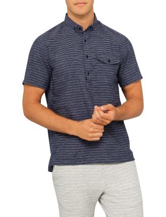 Decade Ss Popover Polo Shirt