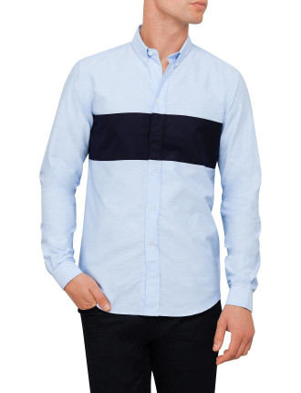 Bimaterial Shirt
