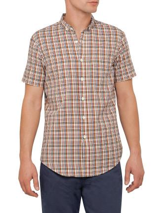 Coba Plaid Ss Shirt