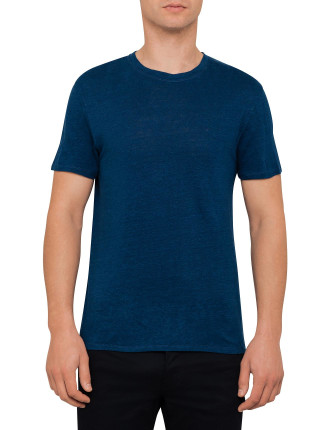 Petrol Blue Basic Tee