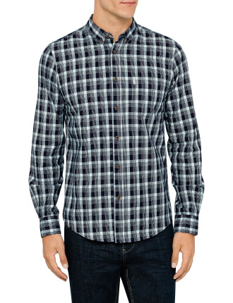 Long Sleeve Mod Check Shirt