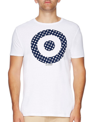 Short Sleeve Mini  Spot Target Graph Tee