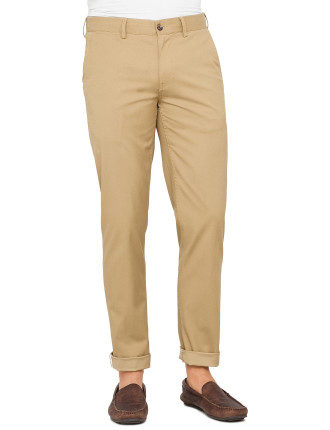 Slim Stretch Chino Antique Bronze