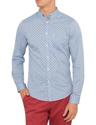 Long Sleeve Margate Polka Dot Shirt