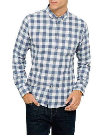 Ls Gingham Check Shirt