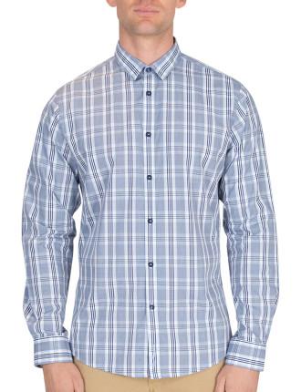 Long Sleeve Pow Check Shirt