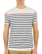 Short Sleeve Breton Stripe Tee $59.95