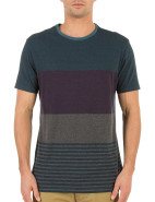 Short Sleeve Micro Stripe Block Tee $59.95