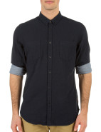 Long Sleeve Plain Bonded Fabric Shirt $99.95
