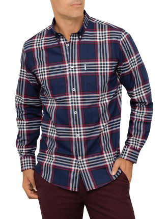 Long Sleeve Union Check Shirt