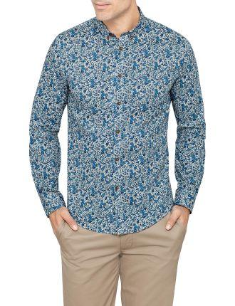 Long Sleeve Margate Liberty Floral Print Shirt