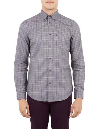 Ls Twisted Tattersal Shirt