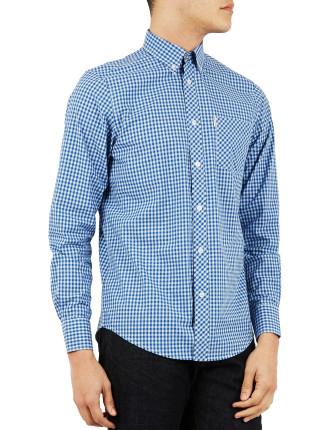 Ls Gingham Shirt