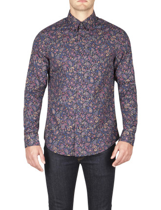 Ls Multicoloured Paisley
